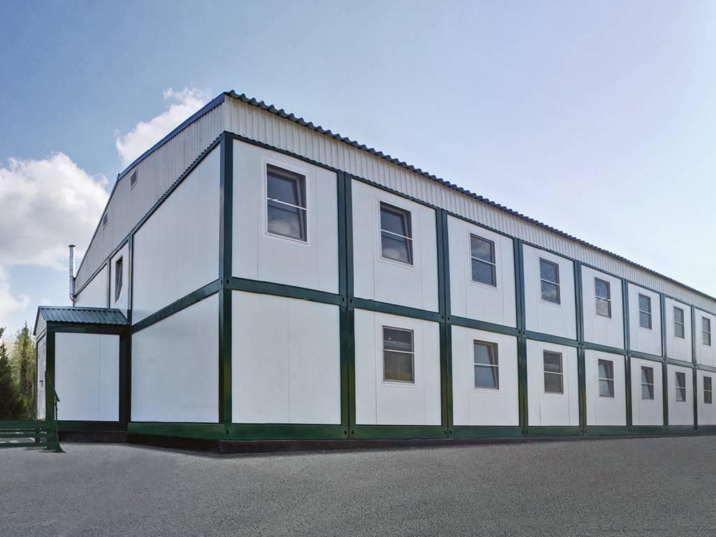 Модульные здания DoorHan