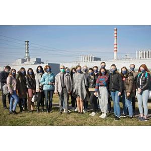 Студенты-журналисты ЮЗГУ побывали в пресс-туре на Курской АЭС