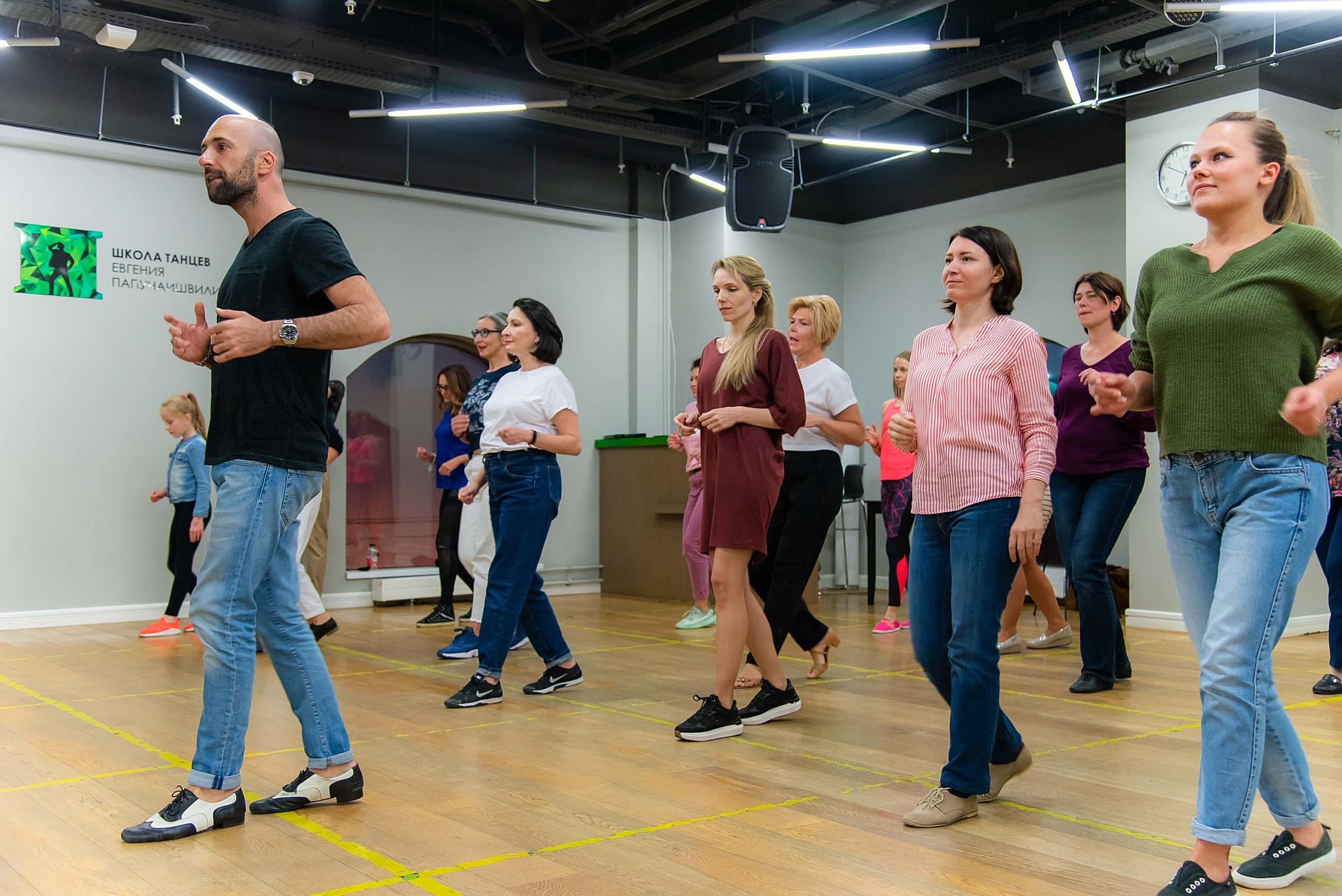 """Школа танцев Евгения Папунаишвили - партнер проекта """"Я стала другой"""""""