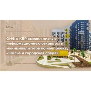 ОНФ в КБР выявил низкую информационную открытость муниципалитетов
