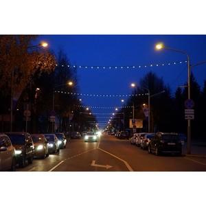 Энергетики украсили иллюминацией улицы и мосты в столице Марий Эл