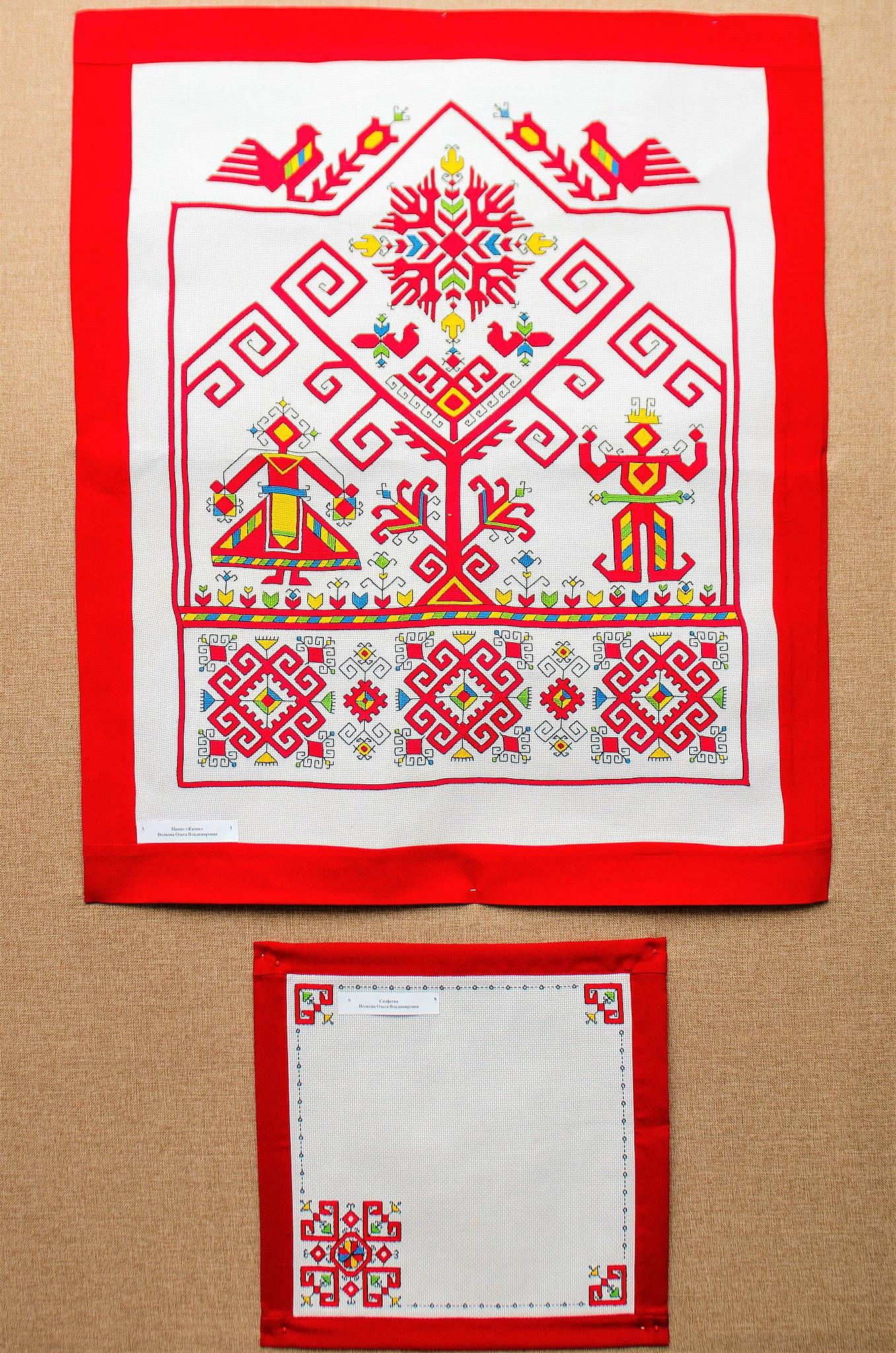 Вышивальщица из Чебоксар сохраняет традиции национального искусства