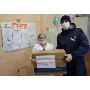 Участники #МыВместе в Коми доставили сельским медикам более тысячи СИЗ