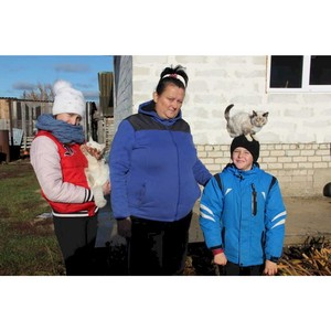 ОНФ в Мордовии помог семье погорельцев подключить к дому газ