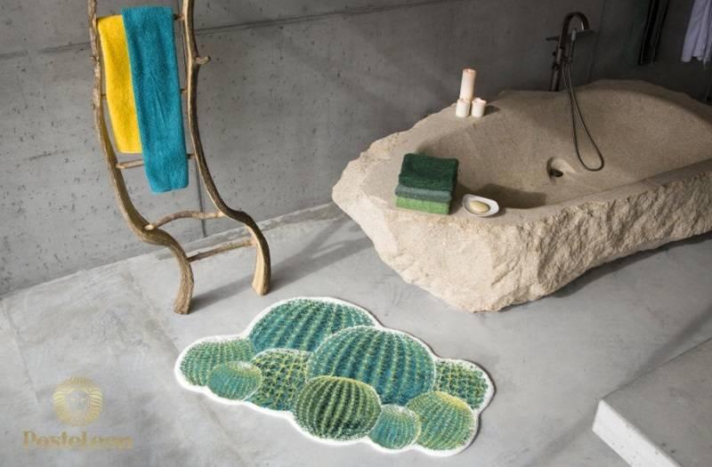 """Махровый коврик для ванной Abyss & Habidecor, дизайн """"Кактус"""""""