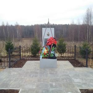 Энергетики Ивэнерго обустроили обелиск Герою Советского Союза