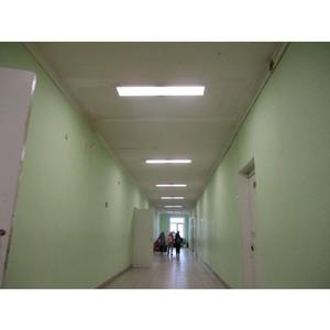 Удмуртэнерго установило эффективные светильники в Селтинских школах