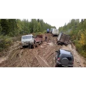 ОНФ Коми добивается ремонта участка дороги Ираёль – Ижма - Усть-Цильма