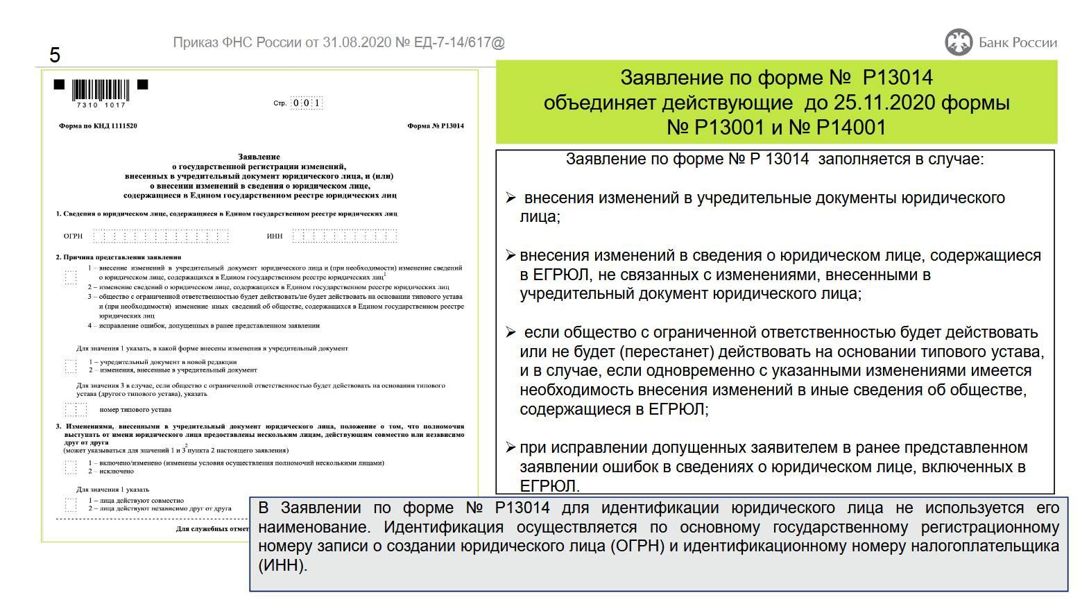 Банки и НПФ должны заполнять документы по новой форме