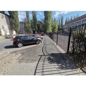 ОНФ помогли добиться тротуара напротив школы № 79 в Воронеже