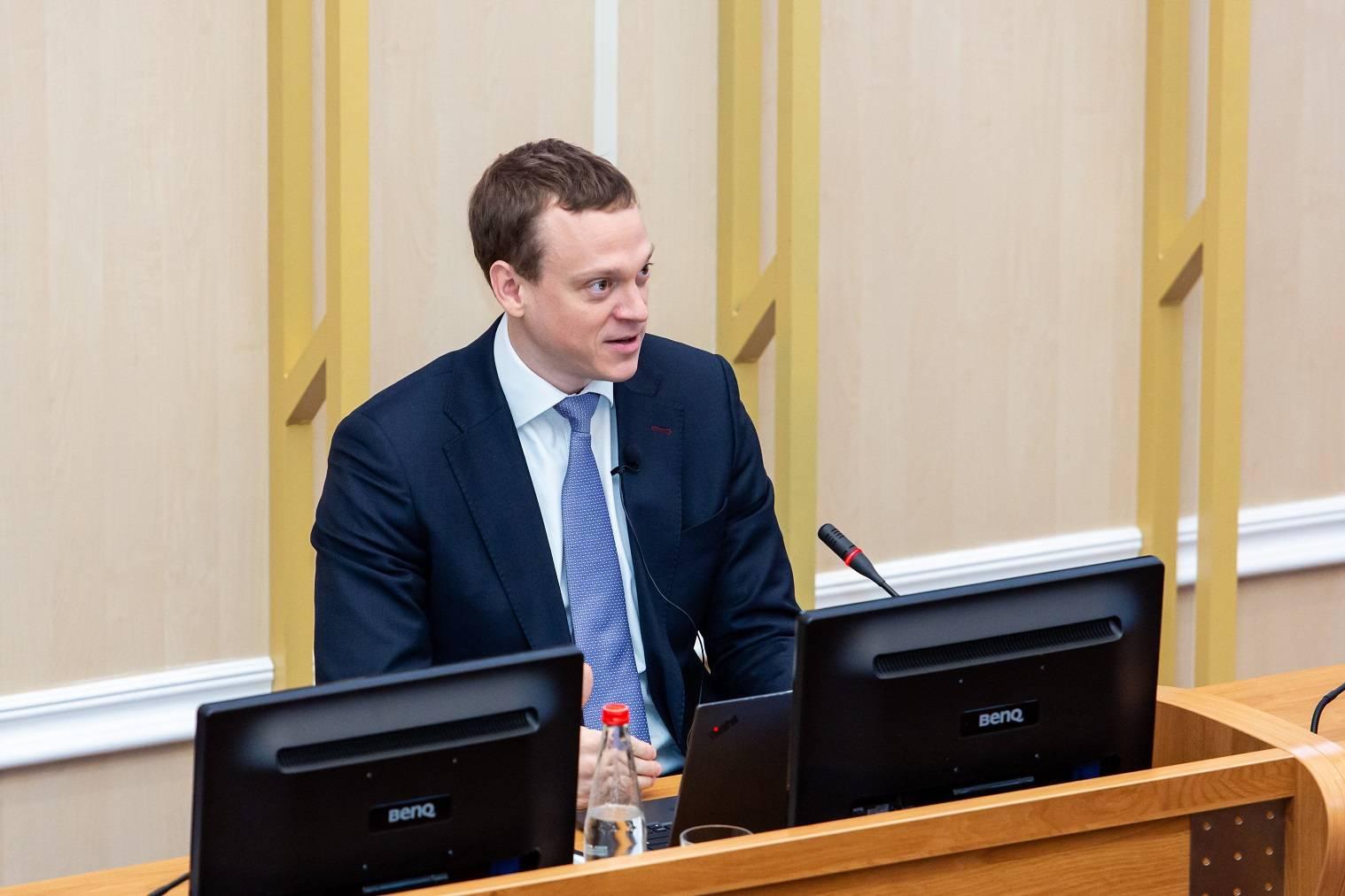 Встреча студентов и преподавателей УрГЭУ с руководителем Росстата