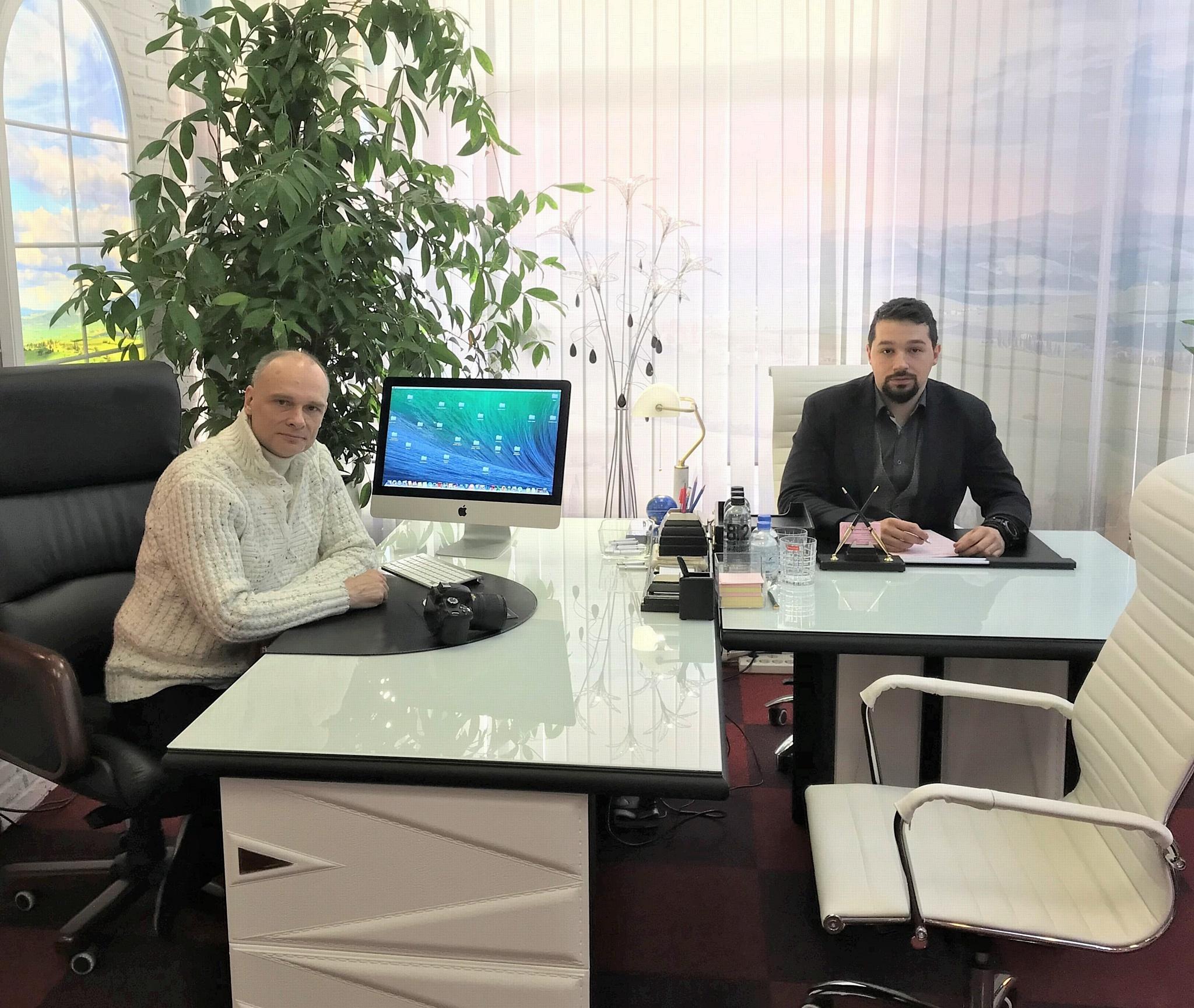 Ю.А. Волынкин и его единственный ученик Ф.А. Пыхтин