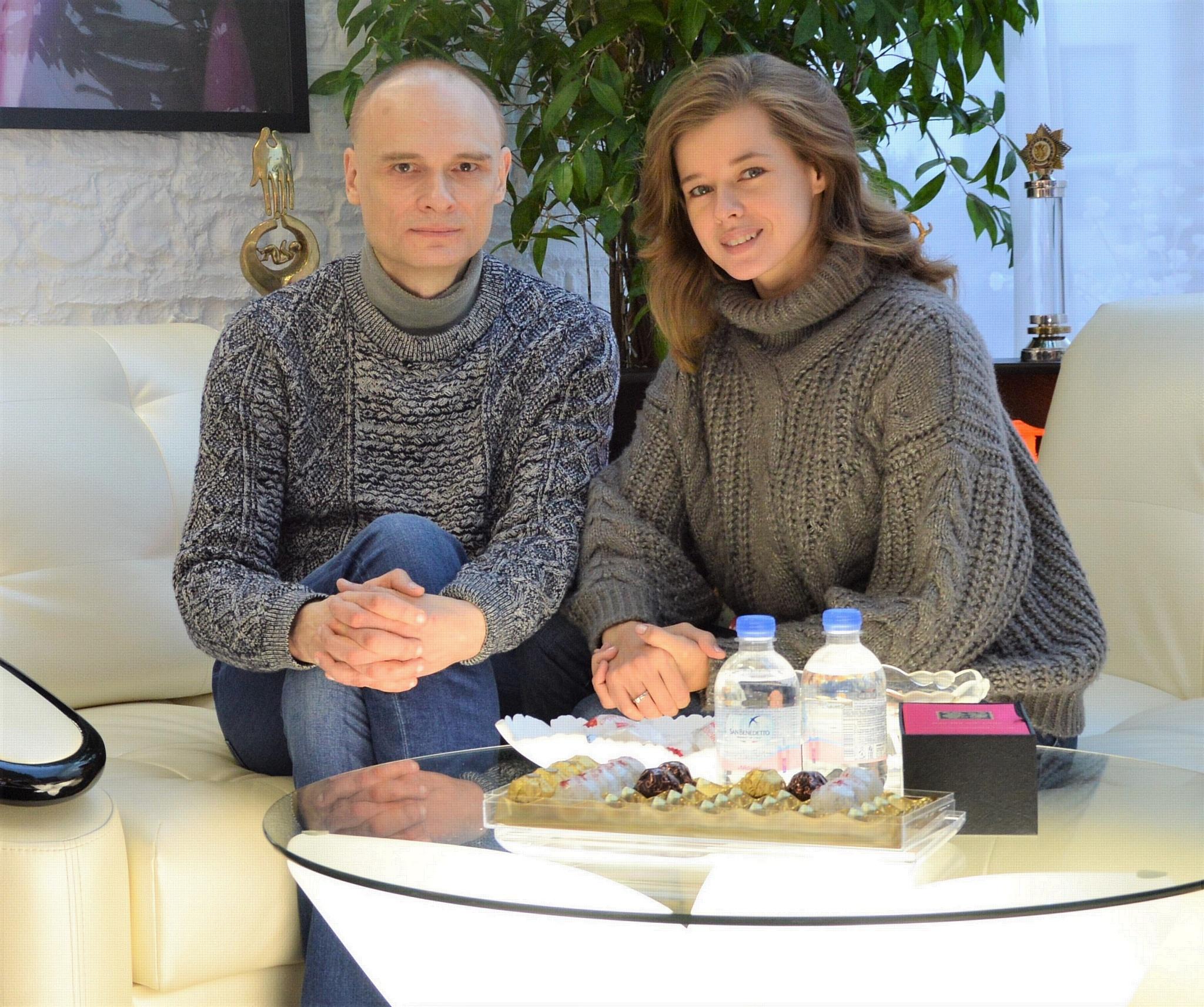 Катерина Шпица и Ю.А. Волынкин