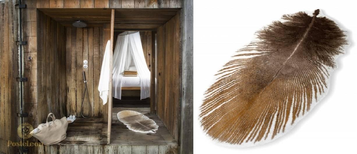 """Махровый коврик для ванной Abyss & Habidecor, дизайн """"Кокот"""""""