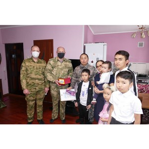 Образцовая семья России - в тувинской Росгвардии