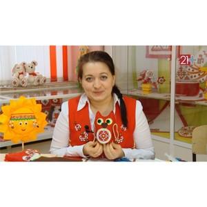 Дом дружбы народов откроет «Мир чувашских узоров» Ольги Волковой