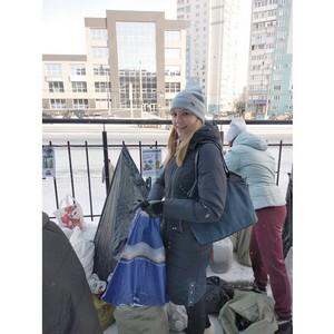 Молодежь челябинского Росреестра участвует в эко-акциях