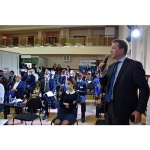 Д. Федоров принял участие во  встрече с губернатором Калужской области
