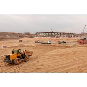 На стройплощадке КуАЭС-2 выполнен годовой план по укладке песка