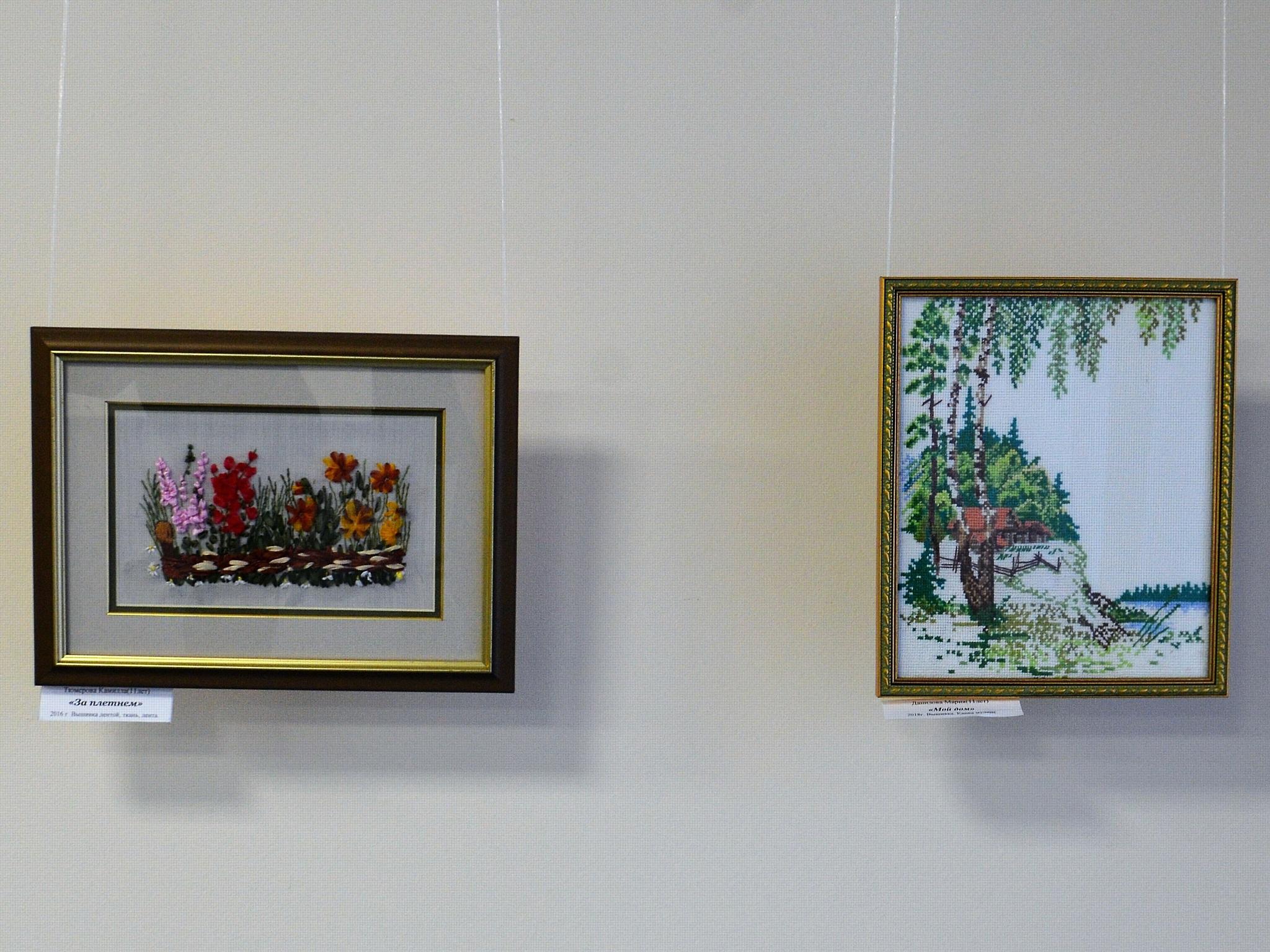 Необычные полотна будущих художников Чувашии посвящены родному краю