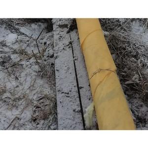 ОНФ в Коми добился ремонта участка теплотрассы в поселке Гарьинский