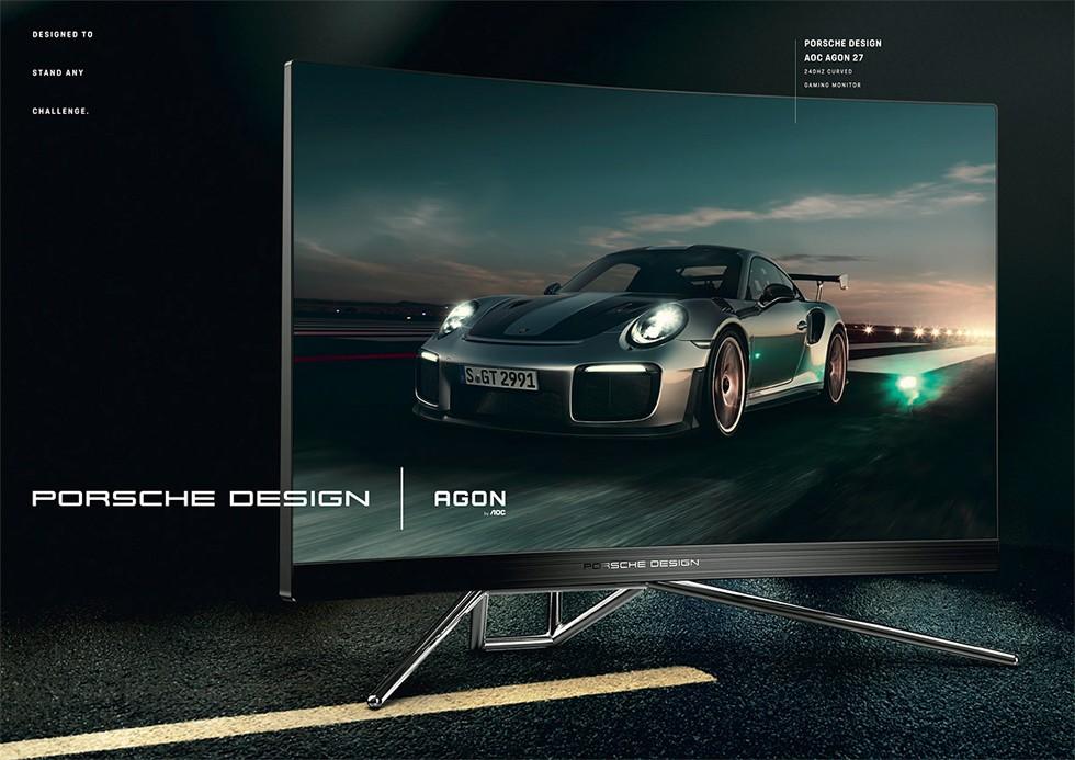 Студия Porsche Design и компания AOC выпустили новый монитор PD27