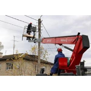 Энергетики Бабынинского РЭС провели работы по благоустройству