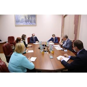 Кировские активисты ОНФ встретились с главой региона