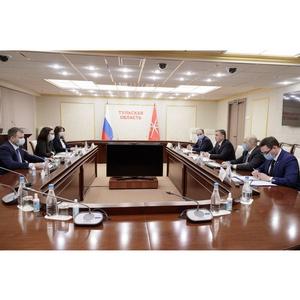 Алексей Дюмин провел рабочую встречу с руководством «Балтики»