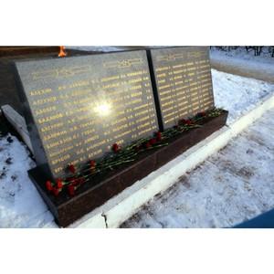 Активисты ОНФ в Мордовии почтили память неизвестного солдата