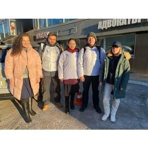 «Союз Маринс Групп» передал гуманитарную помощь центру «Ковчег»