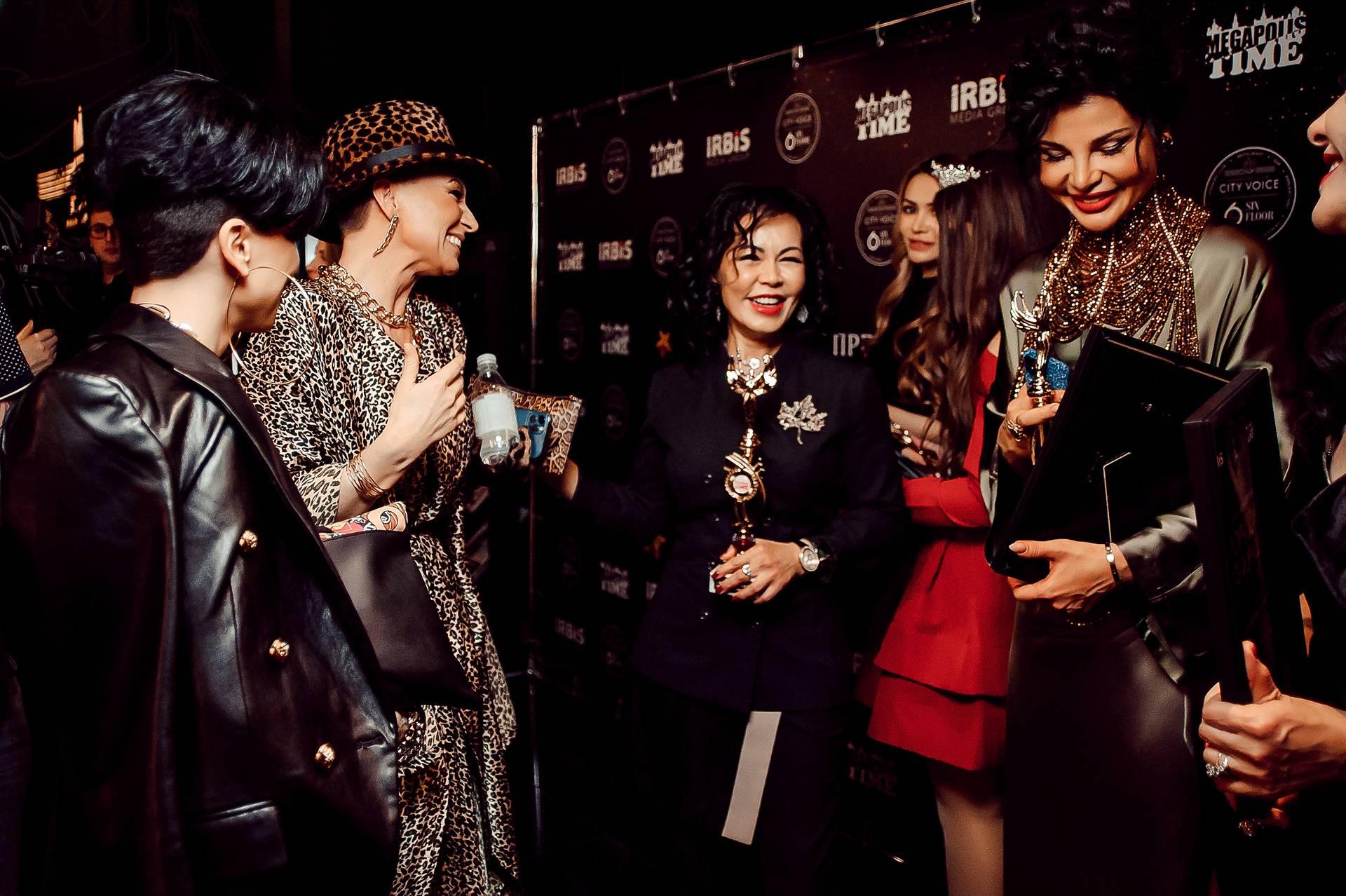 В Москве состоялась IV ежегодная премия от журнала Megapolis Time
