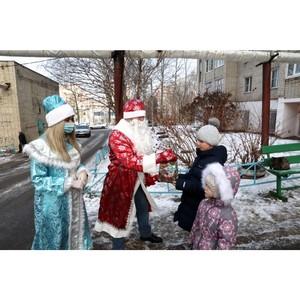 Жителям Мордовии подарили «Новогоднее чудо» и «Корзину радости»
