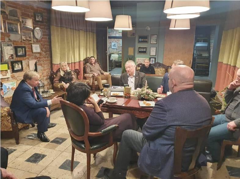 Заседание Попечительского совета проекта «Сто лет СССР. Лучший опыт»