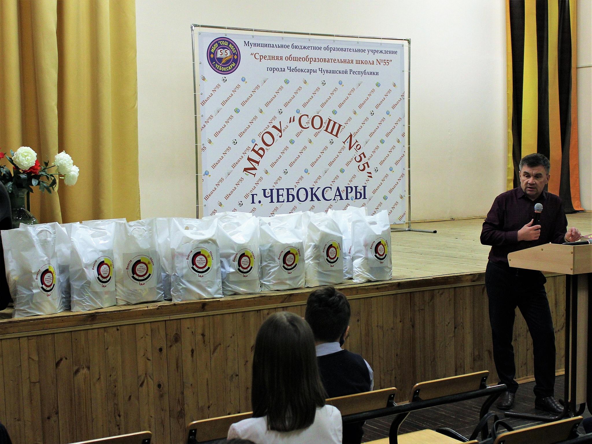 Сирийский культурный центр Чувашии - участник акции «Ёлка желаний»