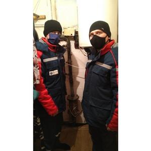 Липецкэнерго отремонтировало систему отопления в доме ветерана труда