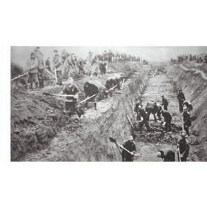 Строительство оборонительных рубежей - пример единства народа Чувашии