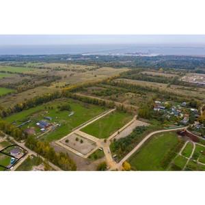 Рядом с Ораниенбаумом стартовало строительство коттеджного поселка