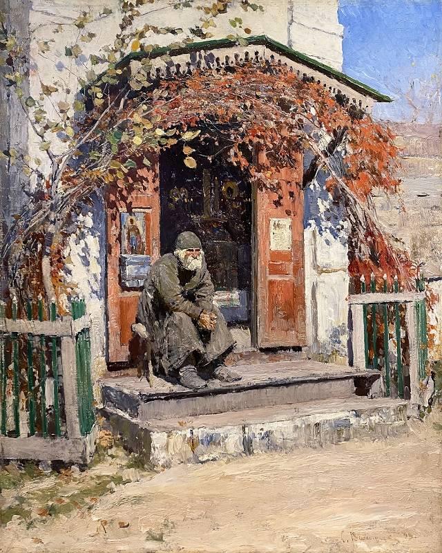 Сергей_Виноградов_Солнечный_денек_1890е_Дерево_масло