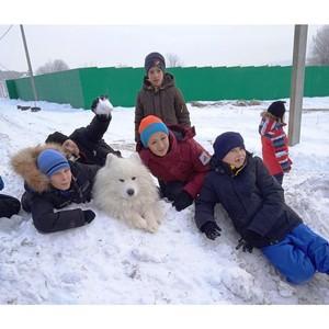 Удмуртэнерго сделало подарок воспитанникам Орловского детского дома