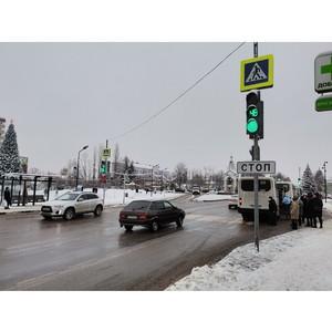 ОНФ просит скорректировать работу светофоров в центре Новой Усмани