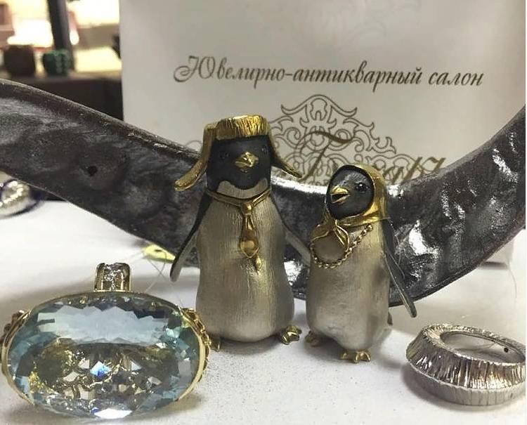 Авторские сувениры из серебра