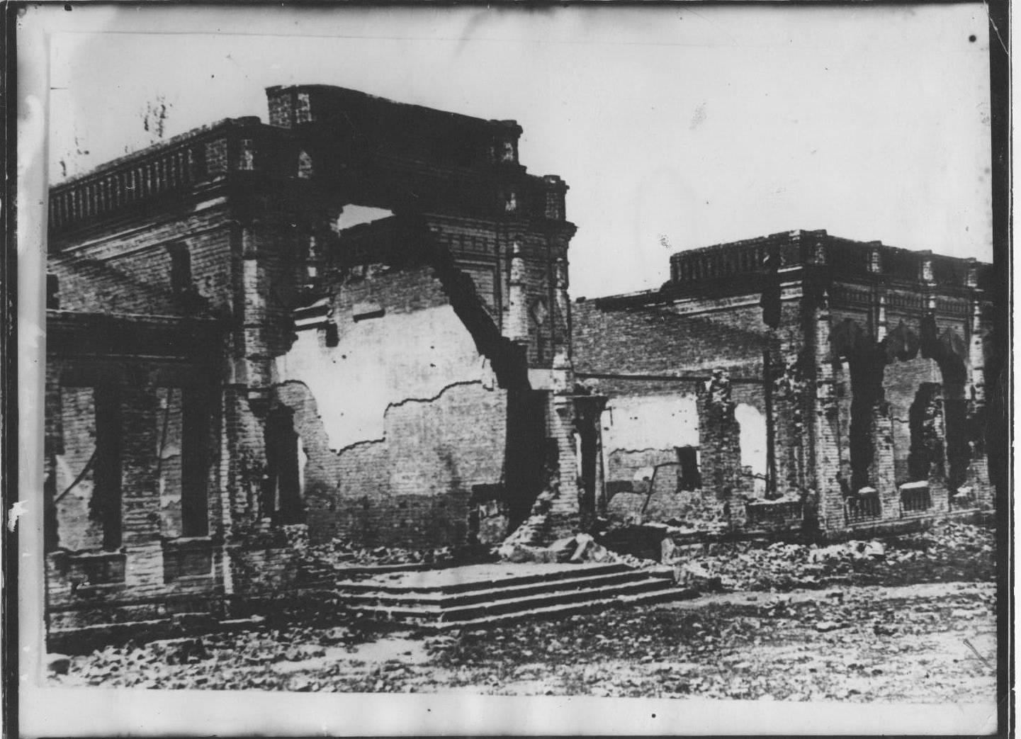 Возрождение из руин и пепла