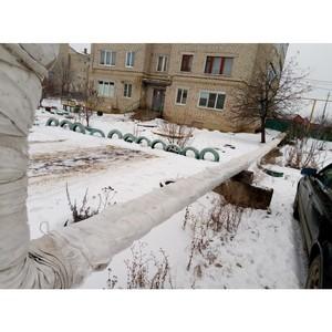 На лямбирской теплотрассе в Мордовии заменили ветхую изоляцию
