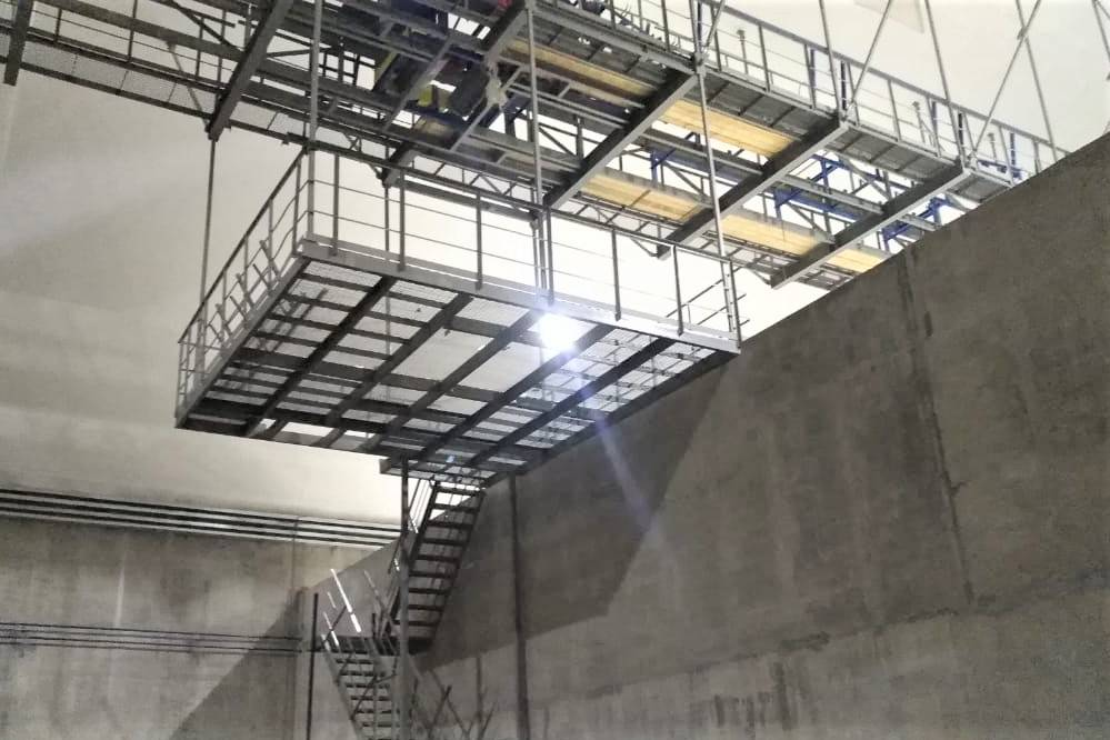 Завершение строительства склада по уникальному проекту ПБ «Аргос»