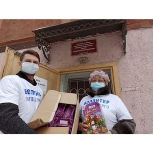 Волонтеры Липецкэнерго провели благотворительные новогодние акции