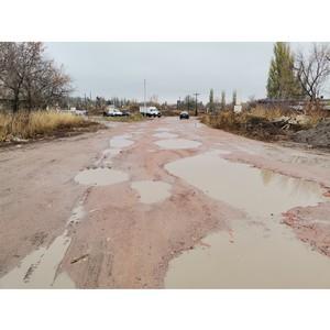 После сигнала ОНФ мэрия Семилук отсыпет дорогу в переулке Кирпичный