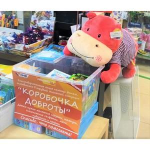 Активисты ОНФ в Карелии передали игрушки детям, борющимся с раком