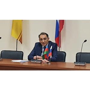 Азербайджанский конгресс в Чувашии обсудил работу с соотечественниками