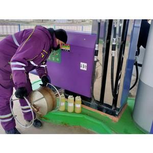 «ТЭС» провел проверку качество топлива в Ленинском районе